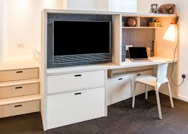Computer Desk For Small Apartment by Ciao Adds Space Saving Custom Furniture To London Micro Apartment