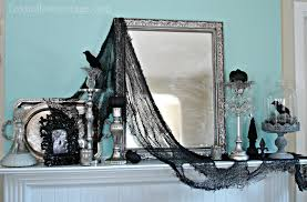 how to get a gothic style haunted halloween mantel fox hollow