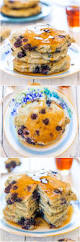 dairy free soft and fluffy blueberry pancakes averie cooks