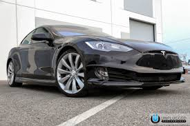 obsidian black color unplugged performance refresh front fascia system for tesla model s