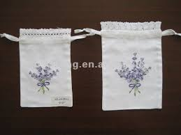 sachet bags rich experience drawstring embroidered lavender sachet bag buy