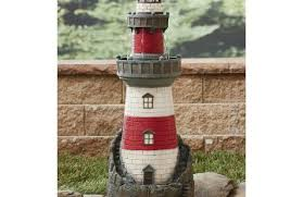 led lighthouse yard ornament ls and lighting by iadpnet