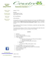 Annual General Meeting Agenda Template by Admin Country Meadows Estates
