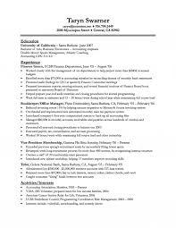 sle resume for fresh graduates accounting software finance major resumes paso evolist co