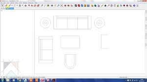 create floor plan in sketchup creating different lineweights in a floor plan using sketchup