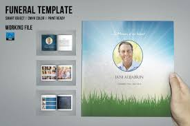 funeral booklet templates funeral program template 8 page v435 brochure templates