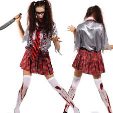 upc code for halloween horror nights scary ladies bloody zombie costume walking dead cosplay halloween