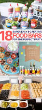 18 best food bar ideas perfect for your next party food bars