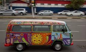 volkswagen van hippie vw s hippie van ends its long strange trip