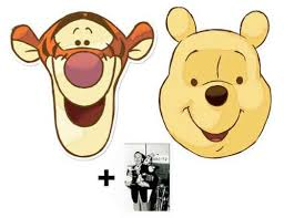 images of tigger from winnie the pooh mask pack winnie the pooh and tigger card mask set of 2