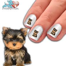 yorkie puppy way too cute nail art now 50 more free u2013 patch