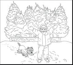 free printable winter coloring pages preschoolers source