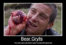 Man Vs Wild Meme - bear grylls by deio kamots stock on deviantart