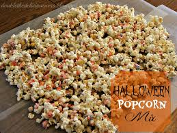 popcorn for halloween double the deliciousness halloween popcorn mix monster munch