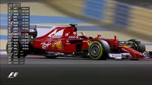mobil balap f1 2017 bahrain grand prix race highlights youtube