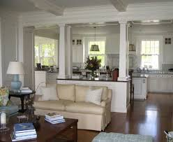awesome cape cod style interior design with white wall paint color