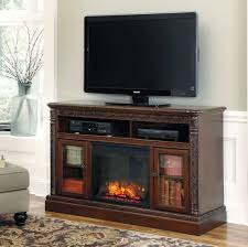 north shore lg tv stand with fireplace insert from ashley w553 68