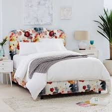 Upholstered Bedroom Furniture by Halsey Upholstered Bed West Elm