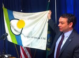 Johns Flags Riverside Mayor Flag Shows Spokane U0027s True Colors The Spokesman Review