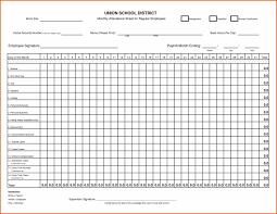 tracking spreadsheet teerve sheet attendance excel template masir