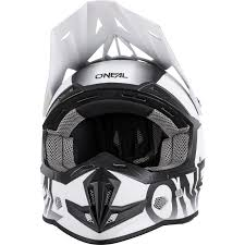 flat black motocross helmet oneal 5 series blocker motocross helmet mx off road atv multi