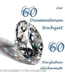 60 hochzeitstag spr che basteln rund ums jahr vorlage karte zur diamantenen hochzeit