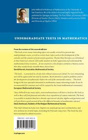 mathematics and its history undergraduate texts in mathematics