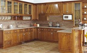 Kitchen Cabinet Units American Style Solid Wood Kitchen Cabinet Units In Shunde District