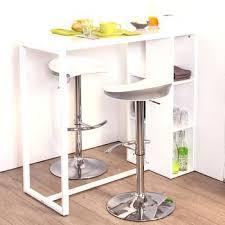 table haute de cuisine avec tabouret table bar cuisine avec rangement table haute de cuisine avec