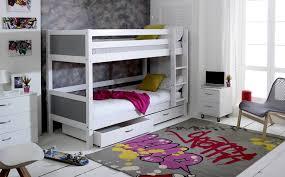 Flexa Bunk Bed Flexa Nordic Bunk Bed 2 Grey Gable Ends