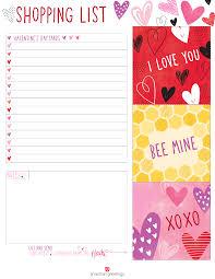 printable valentine u0027s day shopping list american greetings blog