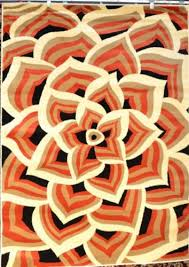 5 X 7 Area Rug Amazon Com 1121 Orange Black Beige Cream Floral 5x7 5 U00272x7 U00272