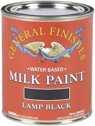 l black milk paint kitchen cabinets general finishes water based milk paint 1 quart l black
