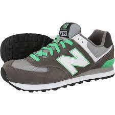 green gray new balance 574 sneakers dark grey green white ml574cpf u2013 four