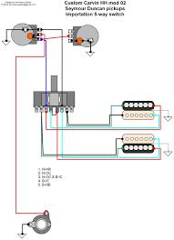 hermetico guitar wiring diagram custom carvin mods 02 and 03