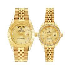 Watch by Guard Couple Elite Diamond Watch