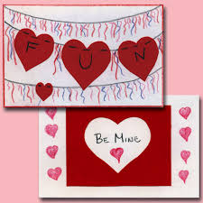 valintine cards easy cards for kids to make s day crafts