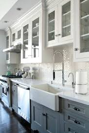 Two Tone Kitchen Cabinet Doors Two Tone Kitchen Cabinets Beautiful Tourism