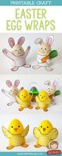 colour in eggheads print crafts and stand for