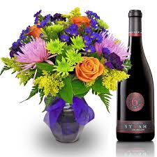 flowers wine moon crush duo by nature nook cleves oh florist nature nook