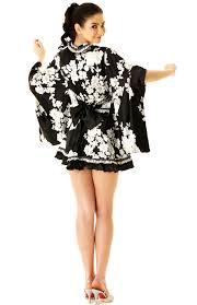 short black kimono dress short yukata u0026 kimono neve bianca