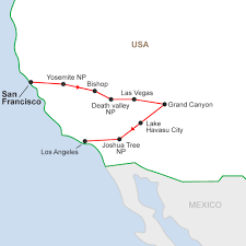 map usa states los angeles western united states los angeles guided tour cosmos at map las