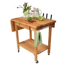 kitchen carts deluxe culi cart maple top with 12
