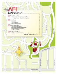 Los Angeles Airports Map by American Film Institute Directions