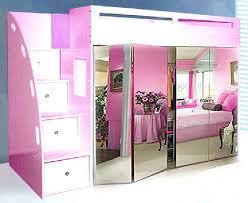 Loft Bed With Closet Underneath Wardrobes Cabin Bed With Built In Wardrobe Custom Loft Bed With