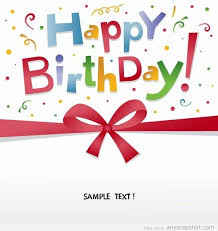 birthday greeting card vector download free backgrounds free