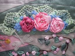 ribbon embroidery flower garden diane u0027s decorating diary my cqi silk ribbon embroidery rr is home