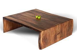 waterfall coffee table wood coffee tables ideas woth metal slab wood coffee table legs making