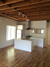 Laminate Flooring For Ceiling Creative Apartment Space Is Born With Deconstructed Open Wood