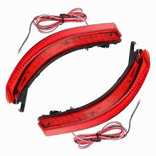 nissan almera tail light for nissan bluebird sylphy almera led red rear bumper reflectors
